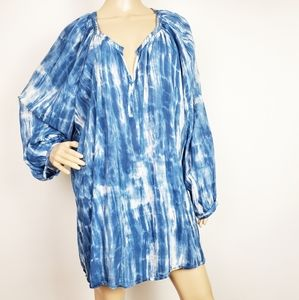 beachlunchlounge Blue Tunic 3X